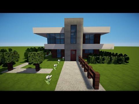 MINECRAFT MODERNEN TURM Bauen TUTORIAL HAUS - Minecraft modernes haus bauen part 1