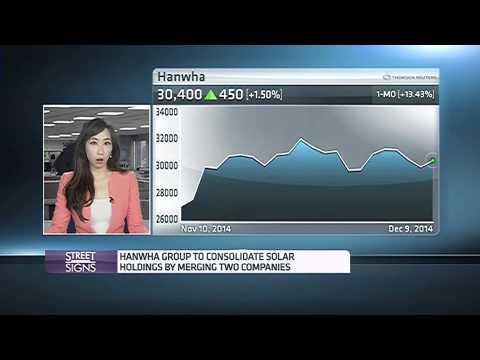 141209 CNBC ASIA - Hanwha Solar One Q Cells Merger 2 - 한화솔라원 & 큐셀 합병 2 - 윤혜준