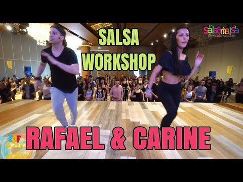 Rafael Barros - Carine Morais Salsa Footwork Workshop | EDF-2018
