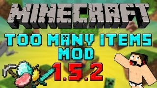 Minecraft mods : Descargar e instalar too many items mod para Minecraft 1.4.5