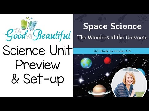Space Science Unit & Student Journal || The Good & the Beautiful