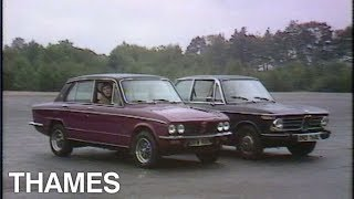 Battle Royale between the Dolomite and the BMW | Vintage Cars | Drive in | 1973