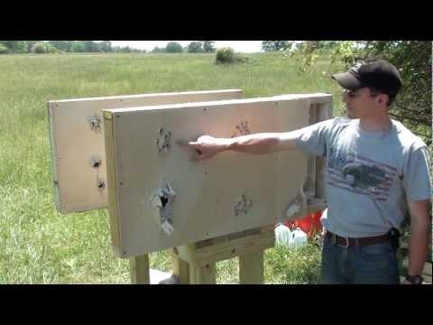 Home Defense: Interior wall penetration test with 12 gauge shotgun