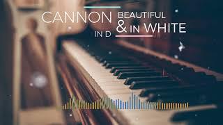 Canon In D X Beautiful In White Piano