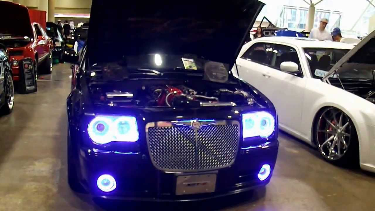 Chrysler 300 headlights changing colours youtube