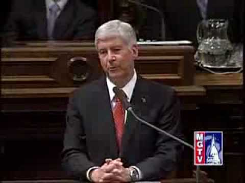 2013 State of State Address - Michigan Governor Rick Snyder