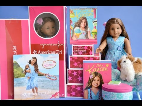 American Girl Doll Kanani Akina 2011 Whole World Collection~ Hd Watch In Hd!