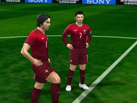 PES6 England Euro 2015 Qualifiers - Portugal vs Norway