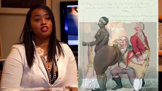 Hottentot Venus then and now