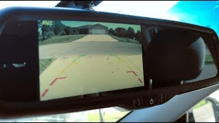 Rearview Mirror Monitor and Back-up Camera Kit