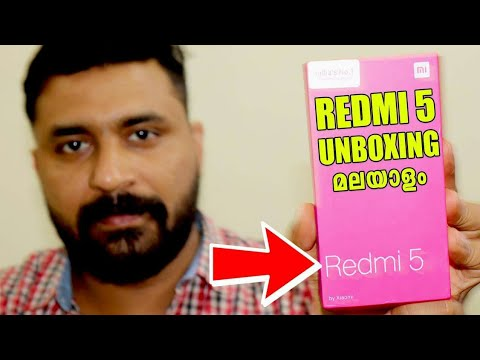 Redmi 5 Unboxing Malayalam BY COMPUTER AND MOBILE TIPS