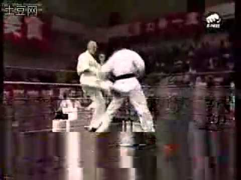 2004 Russian Kyokushin Karate VS China WTF Tae Kwon Do   YouTube Image 1