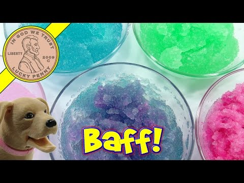 Rainbow of Colors with Gelli Baff - Bath time with Butch!