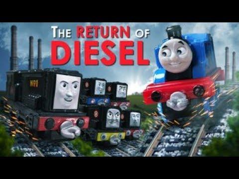 Return of Diesel Compilation + NEW Bonus Scenes | Return of Diesel | Thomas & Friends