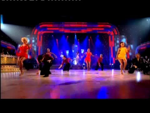 Alesha Dixon - The Boy Does Nothing [Strictly Come Dancing live]