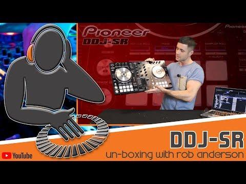Pioneer DDJ SR, Serato DJ Controller Un Boxing with Rob Anderson