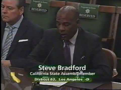 Assembly Public Safety Committee - AB 128 (Bradford)