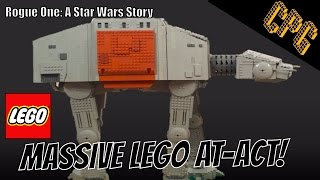 Lego Massive AT-ACT Walker! Rogue One: A Star Wars Story