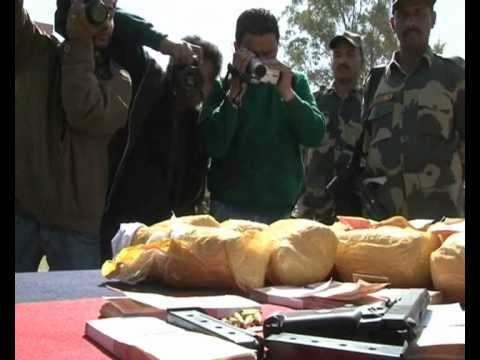 Paramilitary troopers seize heroin worth millions of rupees in north Indian state.
