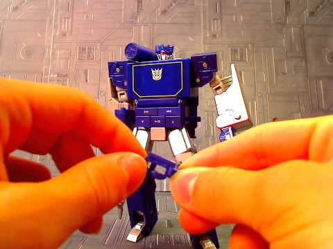 Transformers Music Label Soundwave review