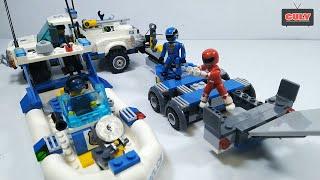Đồ Chơi Lego Siêu Nhân, Tàu và Xe Cảnh Sát
