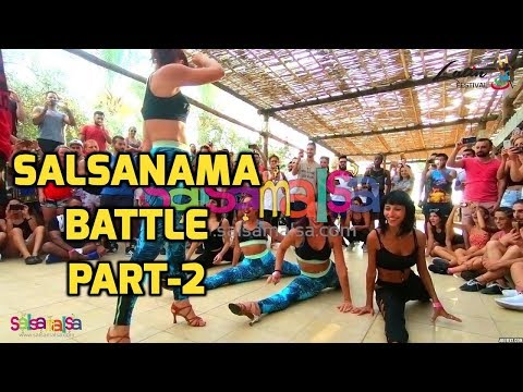 SALSANAMA SALSA BATTLE PART-2 - LEBANON LATIN FESTIVAL