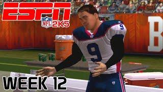 ESPN NFL 2K5 - Cleveland Browns Vs Buffalo Bills - Week 12