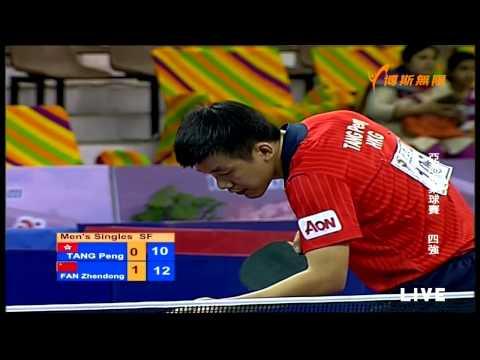 2015 Asian Cup Ms-SF2: FAN Zhendong - TANG Peng [Full Match/720p]