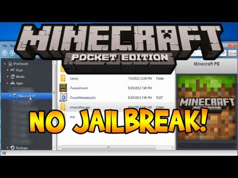 How To Change Your Skin In Minecraft Pocket Edition - NO JAILBREAK!