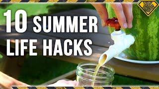 10 LIFE HACKS for SUMMER