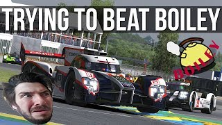 iRacing - Trying (and failing) To Beat Boiley At Le Mans