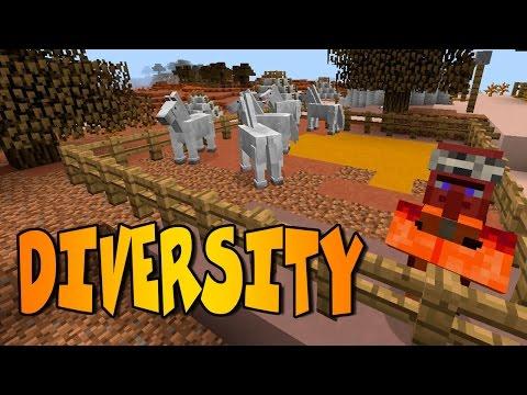 DIVERSITY   DIVERSITY MOD  Minecraft Mod Review