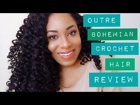 Outre Bohemian Curl Crochet Hair Review (Comparison to Freetress Go Go Curl)| Lia Lavon