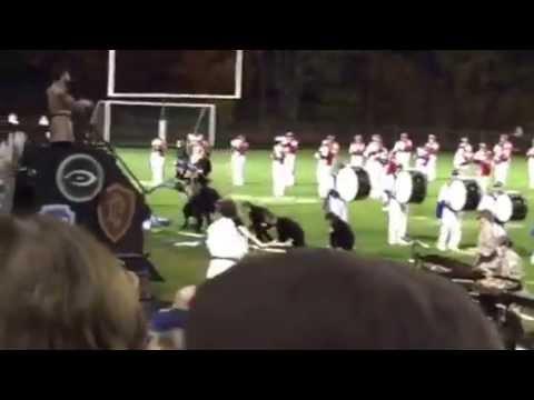 Spaulding High School Marching Band 10/18/2014