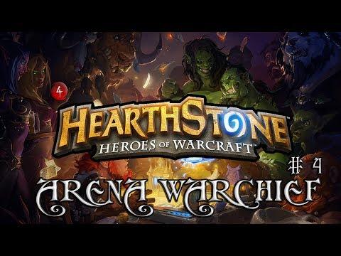 Hearthstone Arena WarChief. Выпуск 4 - Андуин Тащит