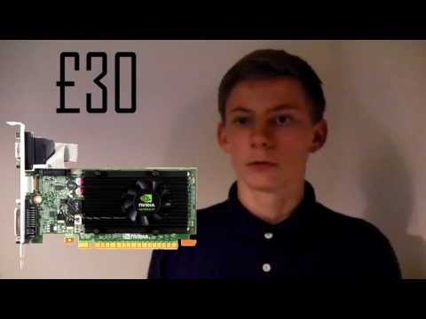 Nvidia GeForce GT 610 Graphics Card - Gameplay & Review (Cheap Gaming PC Card)