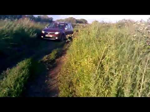 Проходимость Renault Sandero Stepway