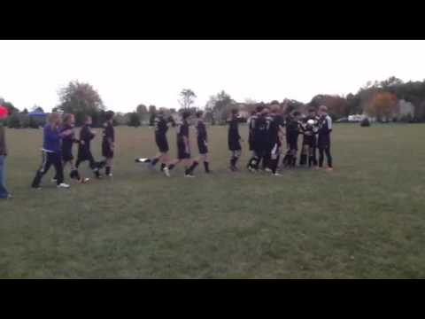 Kankakee Trinity Academy Conference Soccer Champions 2012