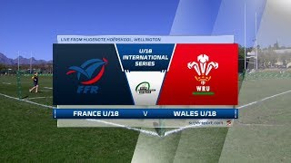 U18 Rugby | France vs Wales | Highlights