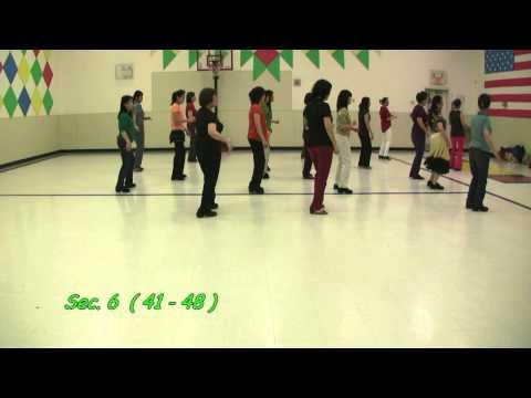 Hippy Hippy Shake - Pat Stoot - Line Dance - Jan.  2013
