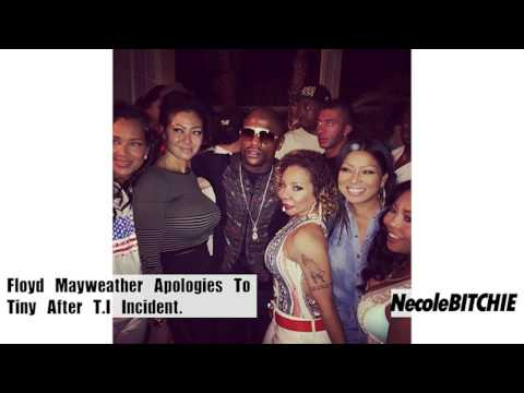 Floyd Mayweather Talks T.i. Fight, Apologizes To Tiny video