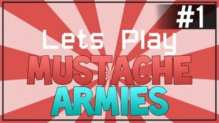 Mustache Armies - Free Indie Game - Score 39 Soldiers