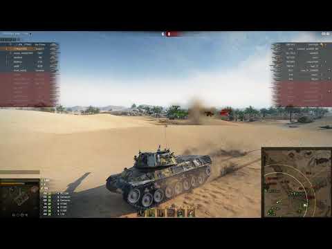 Лютый бой на Leopard 1!!!