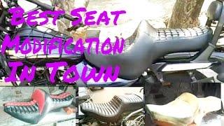 Best seat modification.. Spl for bullet n Avenger in Mumbai, Navi Mumbai and Thane..