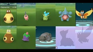 New May pokemon release Gible, Burmy, Hippopotas, Cherrim, Mothim, Gastrodon and more!