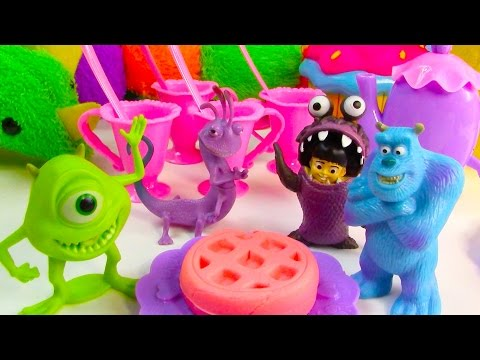 Dollar Tree $1 Haul Disney Monster's Inc Webkinz Plush Toy REview Tea Party