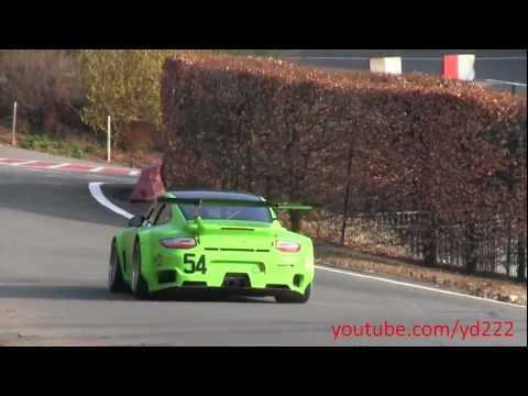 Porsche GT2 R Sportec: Startup, revving and accelerations! 1080p HD