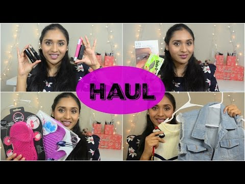 Makeup & Fashion Haul: Maxi Dresses,  Sigma, Sephora & Ulta