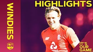 Willey Takes 4-7 As England Win Final Match | Windies vs England 3rd IT20 2019 - Highlights