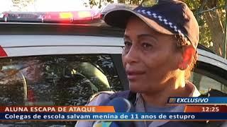 DF ALERTA - Colegas de escola salvam menina de 11 anos de estupro